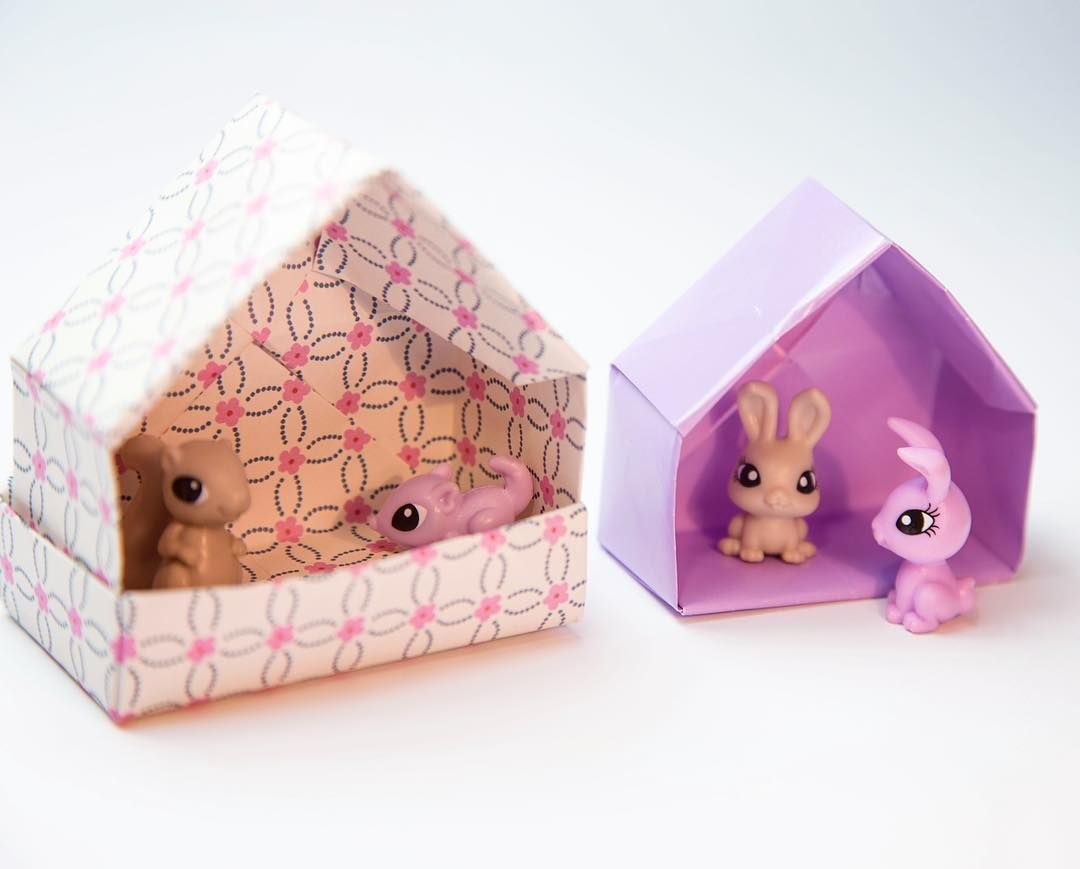 House shaped box and friends design paperkawaii origami house shaped box and friends design paperkawaii origami box origamibox house origamihouse housebox cute kawaii paper crafts papercraft diy paperfolding jeuxipadfo Gallery