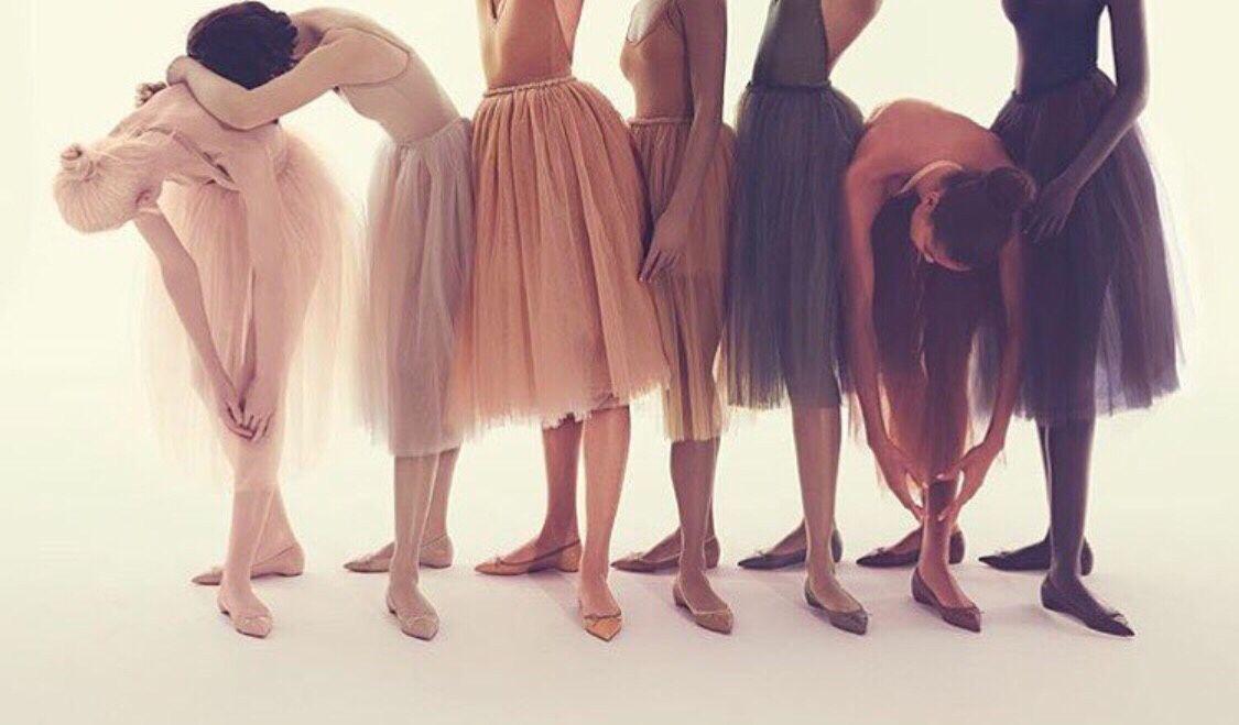 Louboutin, skin, ballet