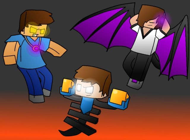 Skybrine💛, Enderlox💜, and WitherMU💙💙!! | Mutant ...