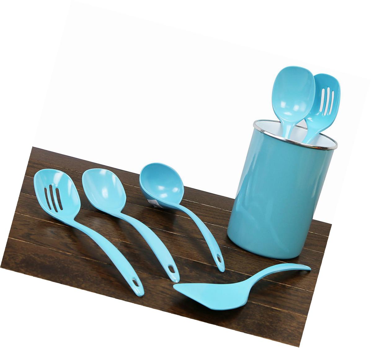 Cookware Kitchen Melamine Utensil Set 4-Piece Cooking Utensils ...