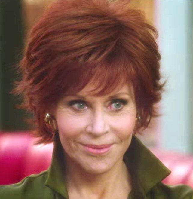 Image result for Haircut on jane fonda in the book club  My Style in 2019  Jane fonda