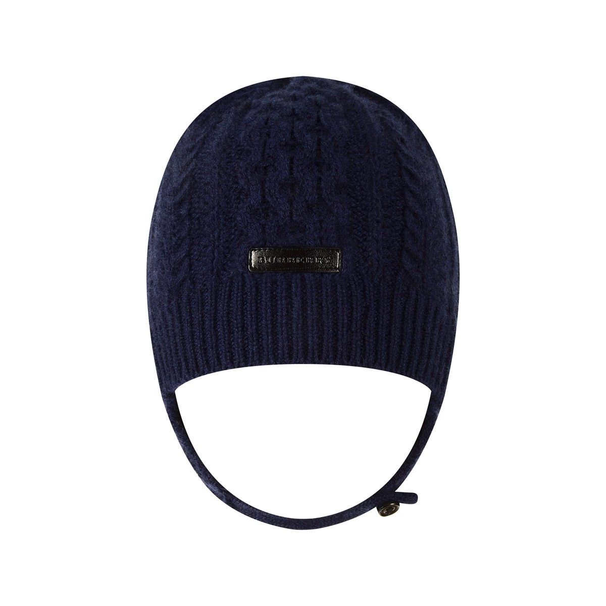 adcb1532faf Burberry Baby Boys Navy Cashmere Cable Knit Hat