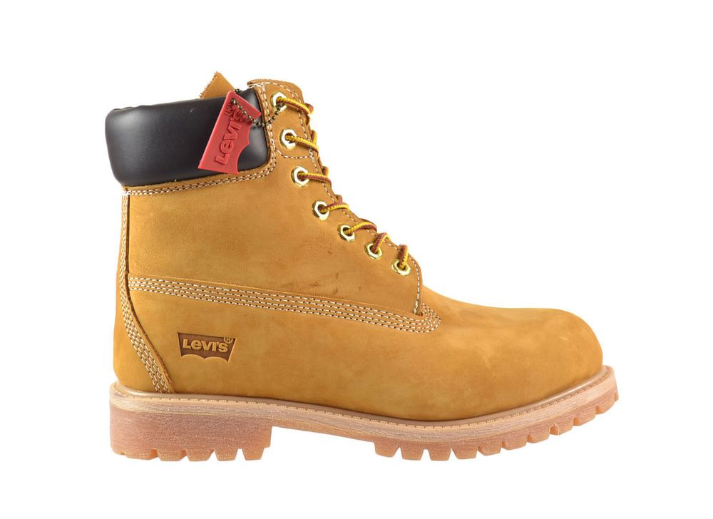 Levi's Harrison Wheat Boots Men's Suede Leather Work [516429-11B] Size 10.5  New