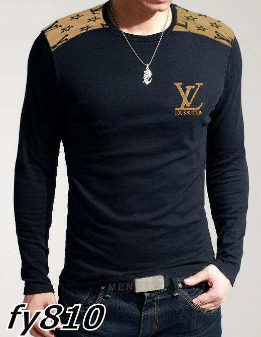 Louis Vuitton Mens Long Sleeve Black Tights $60.99 www.gomalllv ...