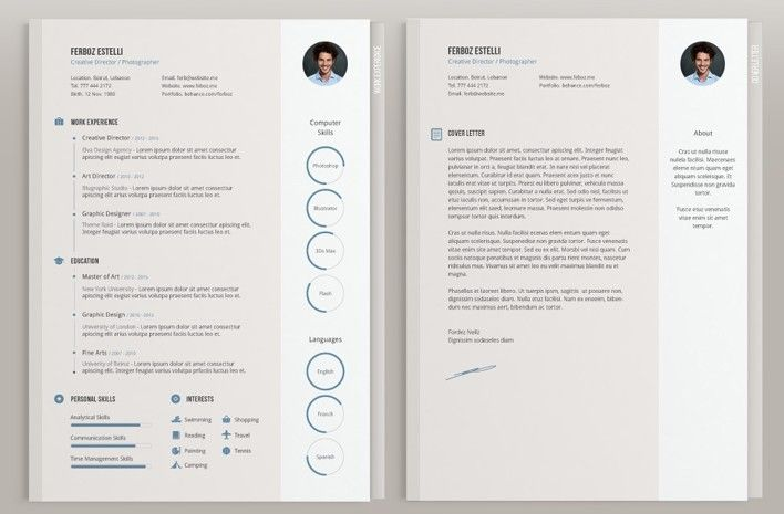 Billedresultat For Minimalist Cv Template  Work    Cv