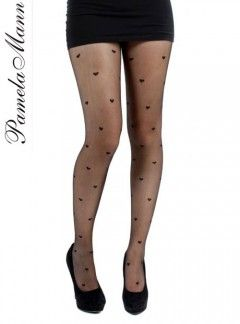 d04d635740e4a Pamela Mann Sheer Hearts - Pantyhose, Stockings and more - MyTights.com -  The Online Hosiery Store