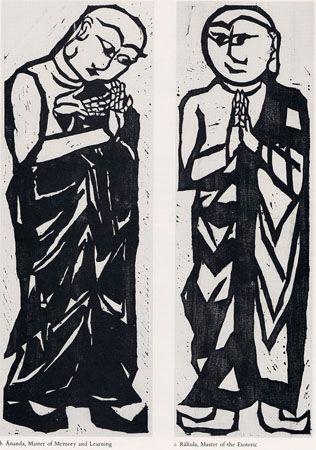 Munakata, Shiko- 2-Bodhisattvas-10-great-b-c