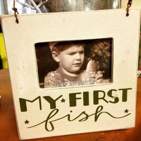 My First Fish Frame | The Exchange | Pinterest | Fish and Products