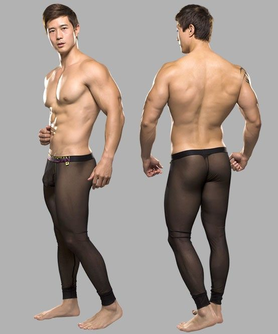 male pantyhose action male