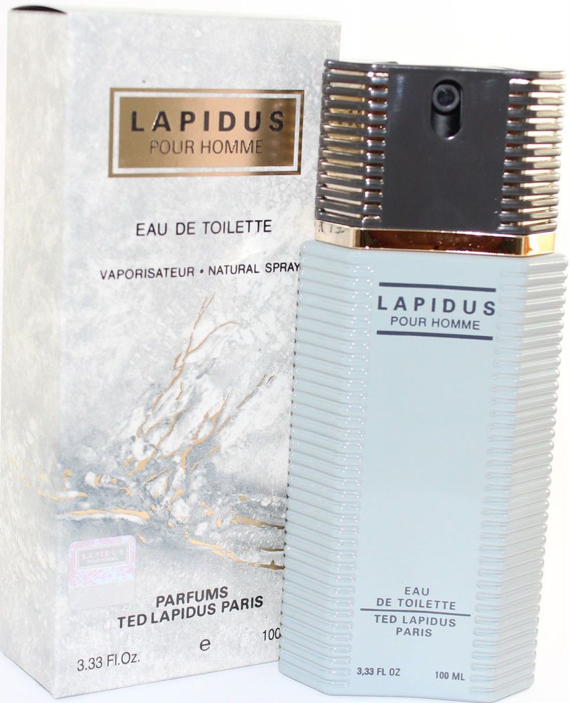 Lapidus Pour Homme Cologne By Ted Lapidus 33 Oz Spray For Men New