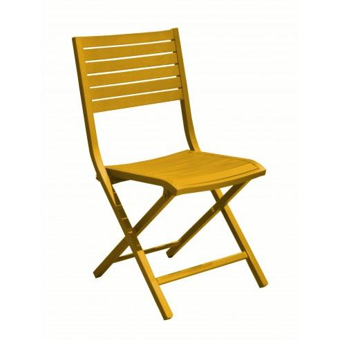 Chaise De Jardin Pliante Lucca En Aluminium Proloisirs En 2020 Chaise De Jardin Table Et Chaises De Jardin Chaise Pliante