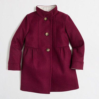 J.Crew Factory - Factory girls' wool dress jacket | little people ...