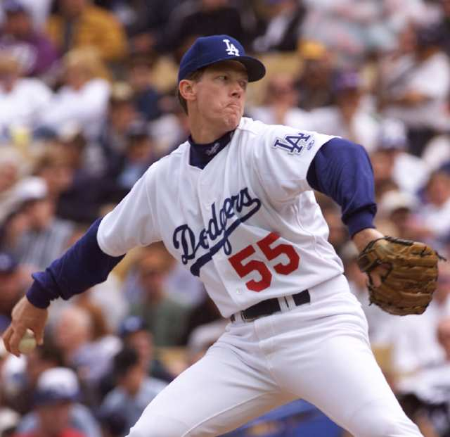 Orel Hershiser La Dodgers Pitcher Famous Baseball Players Dodgers Orel Hershiser