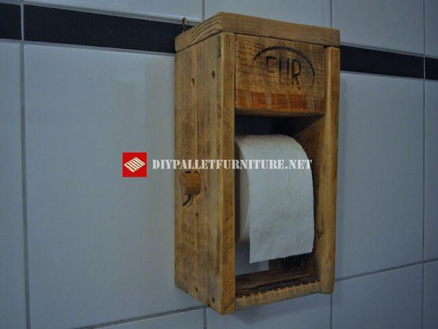Mueblesdepaletsnet Porta rollos de papel higiénico 5recycle - rollos für badezimmer