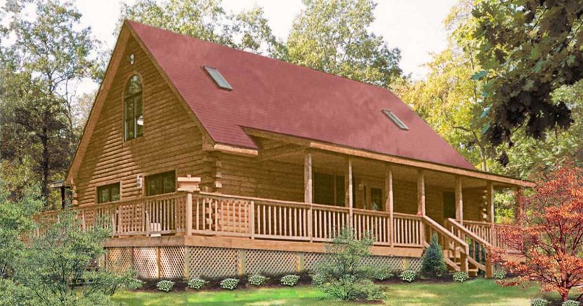 This three bedroom cabin still feels spacious look inside see for of quaint log home living the warren delivers with this log cabin floor plan enjoy 2 bedrooms 1 bath in 1 and stories and large kitchen solutioingenieria Image collections