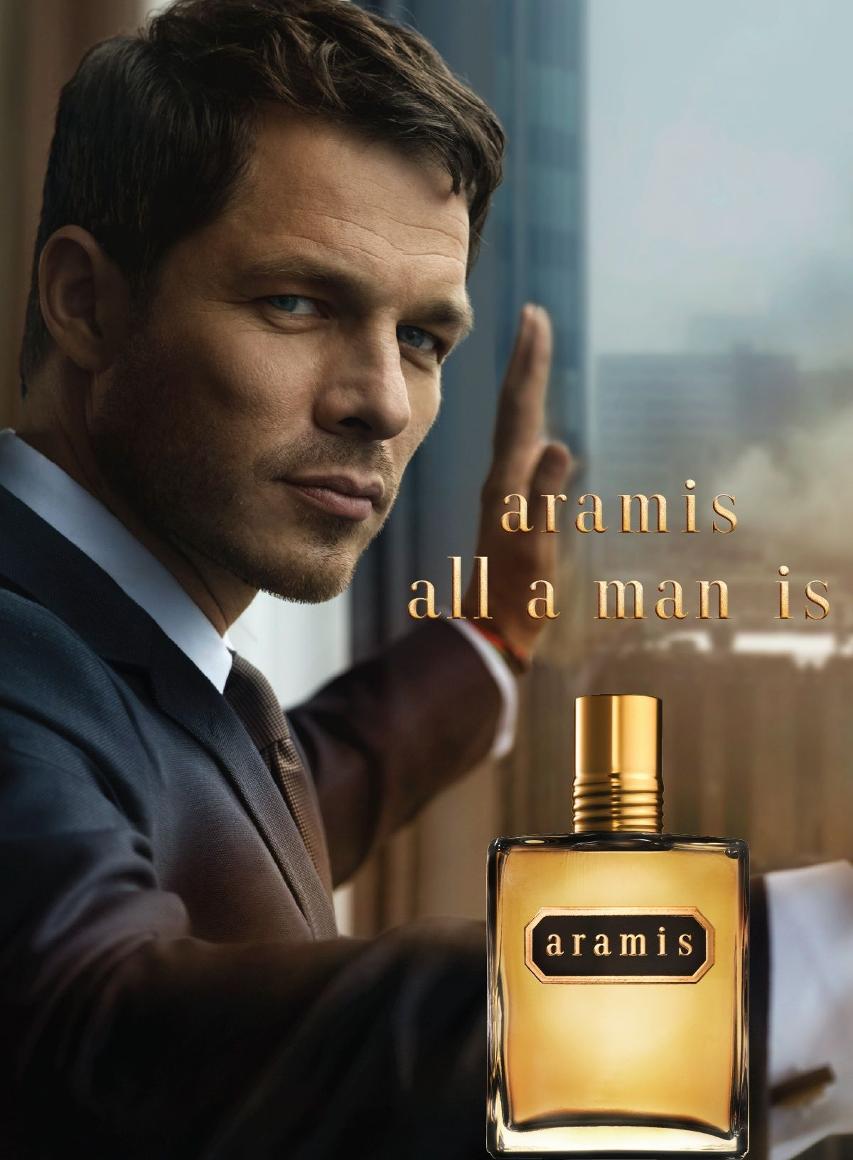 Image result for aramis perfume poster