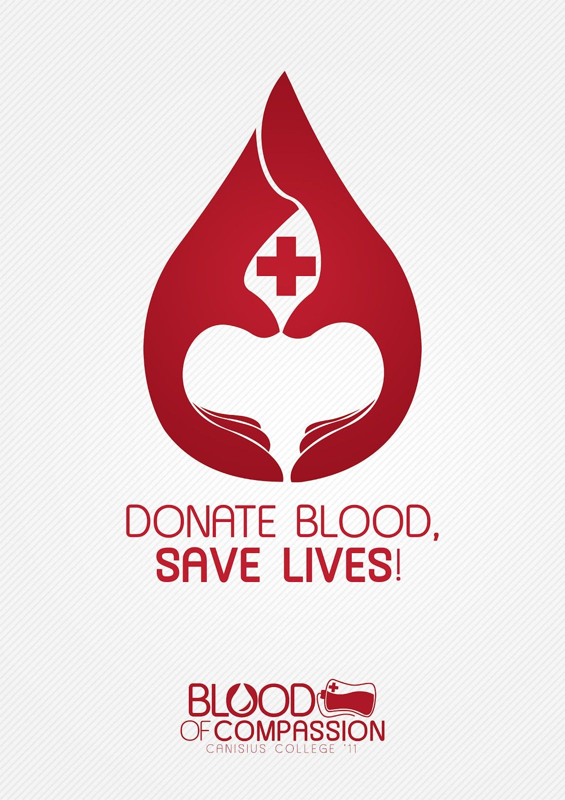 Poster design on blood donation - Blood Donation