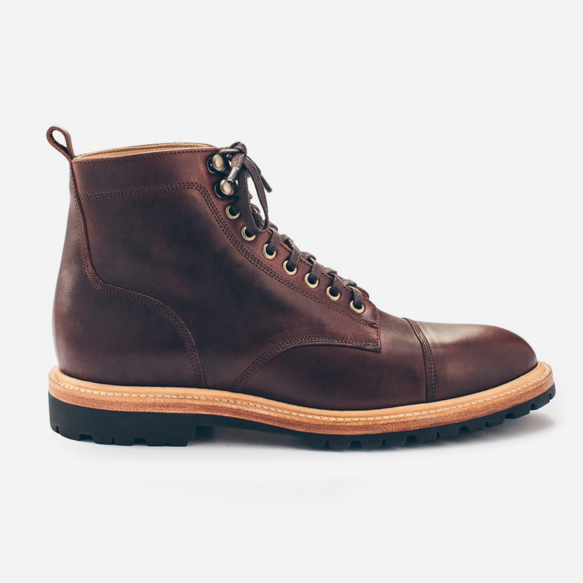 3a12fc288a6 These Full-Grain Steerhide Moto Boots are Made for Walking, Riding ...