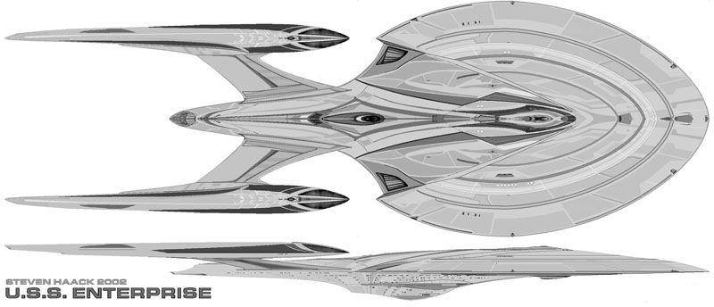 USS Enterprise (NCC 1701 H) (Independence class)   Star trek