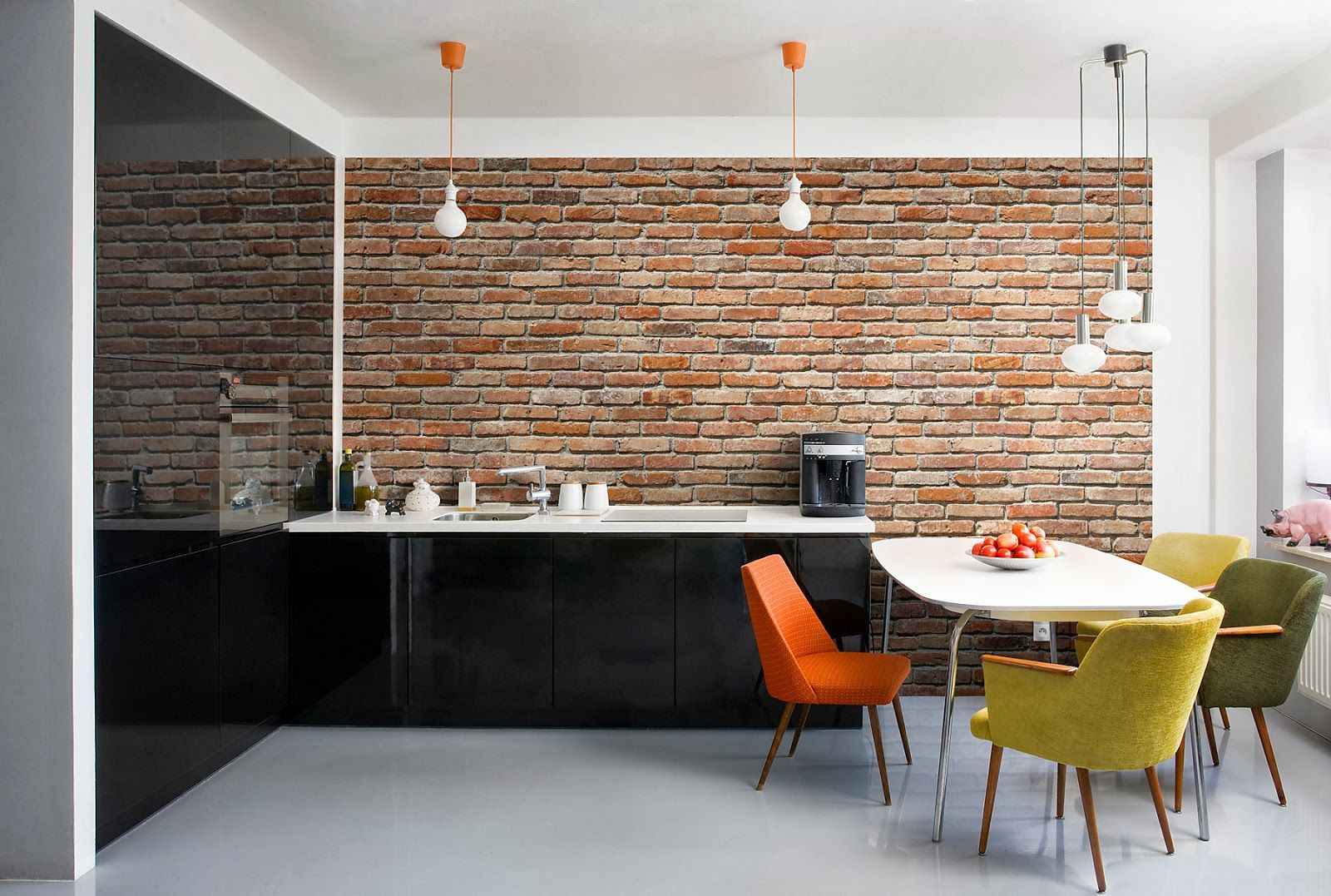 White Kitchen Feature Wall collections of brick feature walls interior, - free home designs