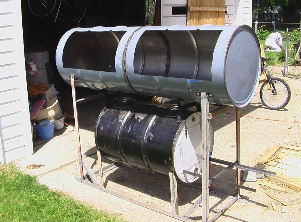 The Smoke Ring Bbq Pits Idea S Barrel Smoker Drum