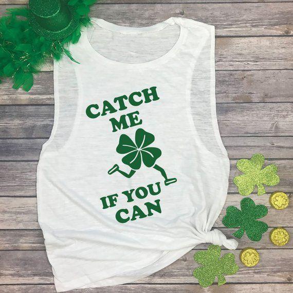 5c57ba39 Advertisement; Catch Me If You Can Shirt - Shenanigans T Shirt - Funny  Running Shirts - Funny
