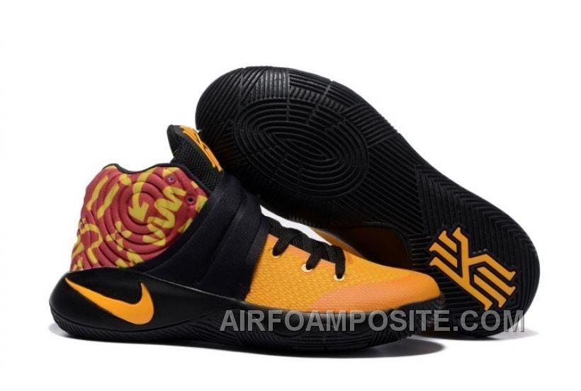 Nike Kyrie 2 Shoes Yellow Black Km4s4
