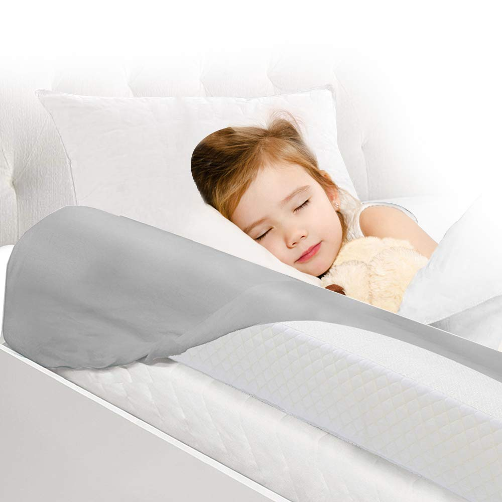Toddler Bed Rail Bumpers [2 Pack] Safety