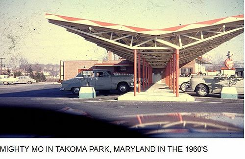 Vintage Wheaton Plaza | Md059: Mighty Mo, Takoma Park, Md.