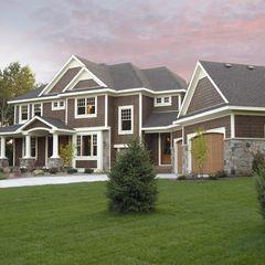 traditional exterior by Kieran J. Liebl,  Royal Oaks Design, Inc. MN exterior colors