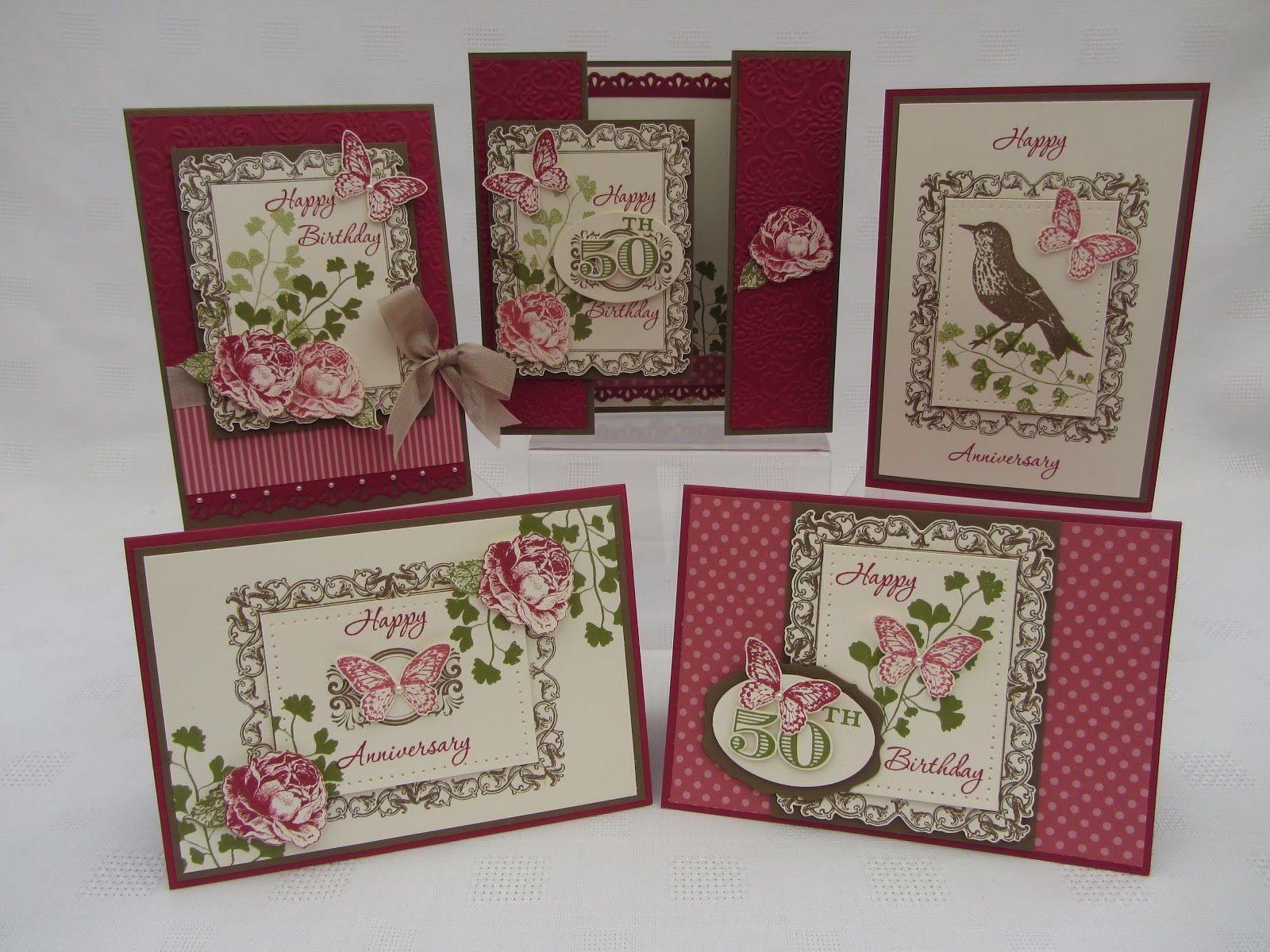 Amazing creations from Jenny using the Papaya Collage Stamp set and