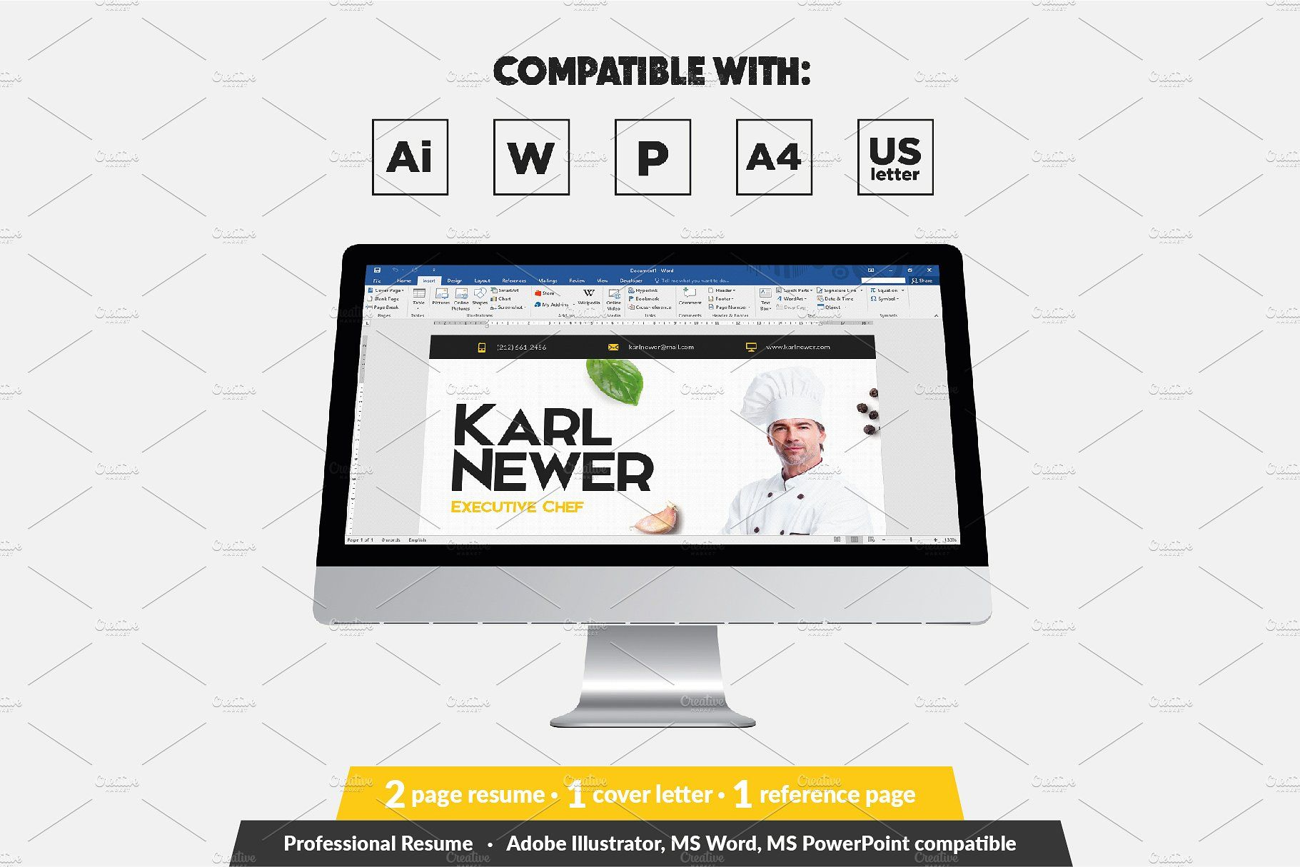 Executive Chef Resume Template Resume Template Chef Resume Resume