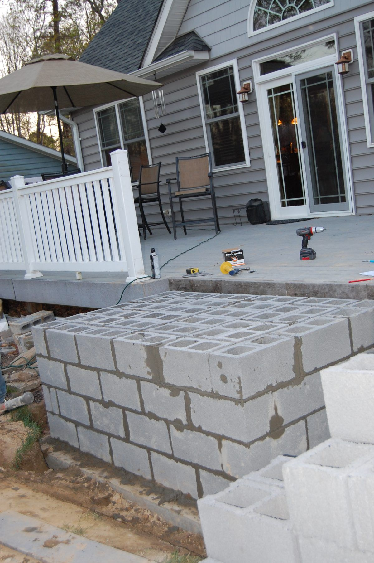 DIY Outdoor Fireplace Build Review - You too can build one ... on Building Outdoor Fireplace With Cinder Block id=39337