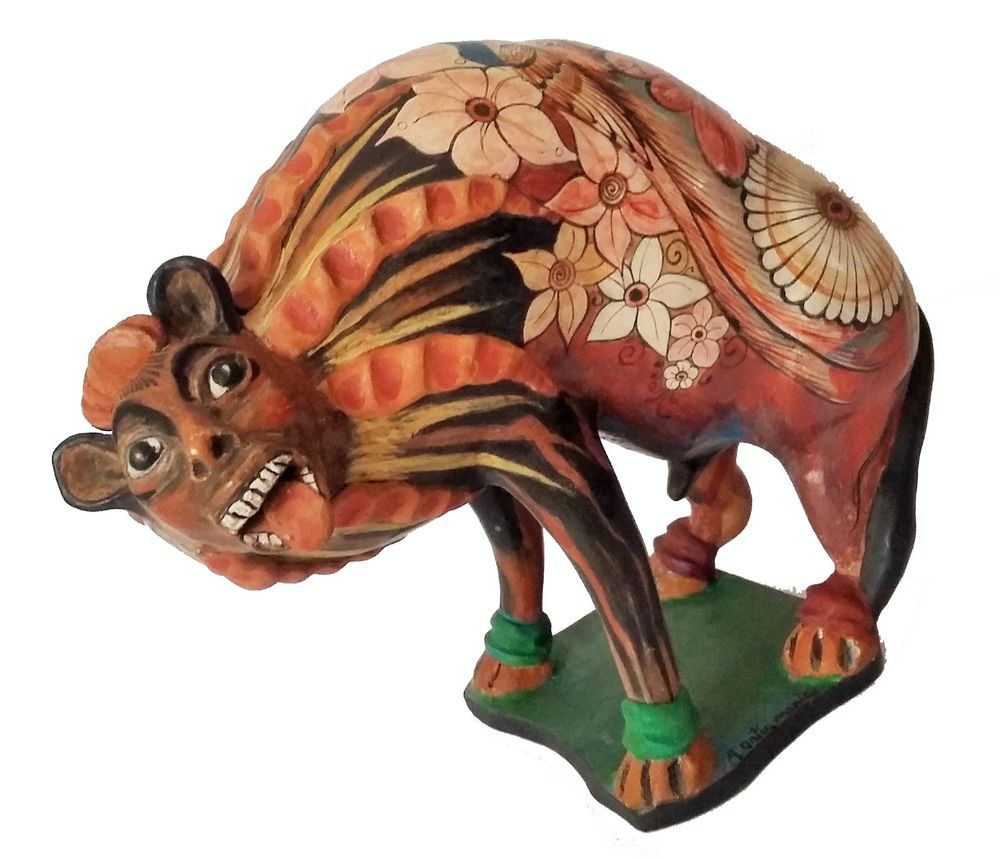 Mexican paper mache vintage judas sculpture folk art at 1stdibs - Nagual Ceramic By Angel Ortiz Tonala Mexican Folk Art Mexicanart Mexicanfolkart Losnaguales