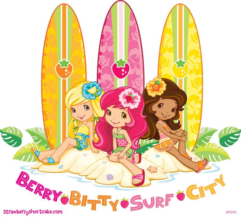 Berry Bitty Surf City!   Strawberry Shortcake Fun in the Sun ...