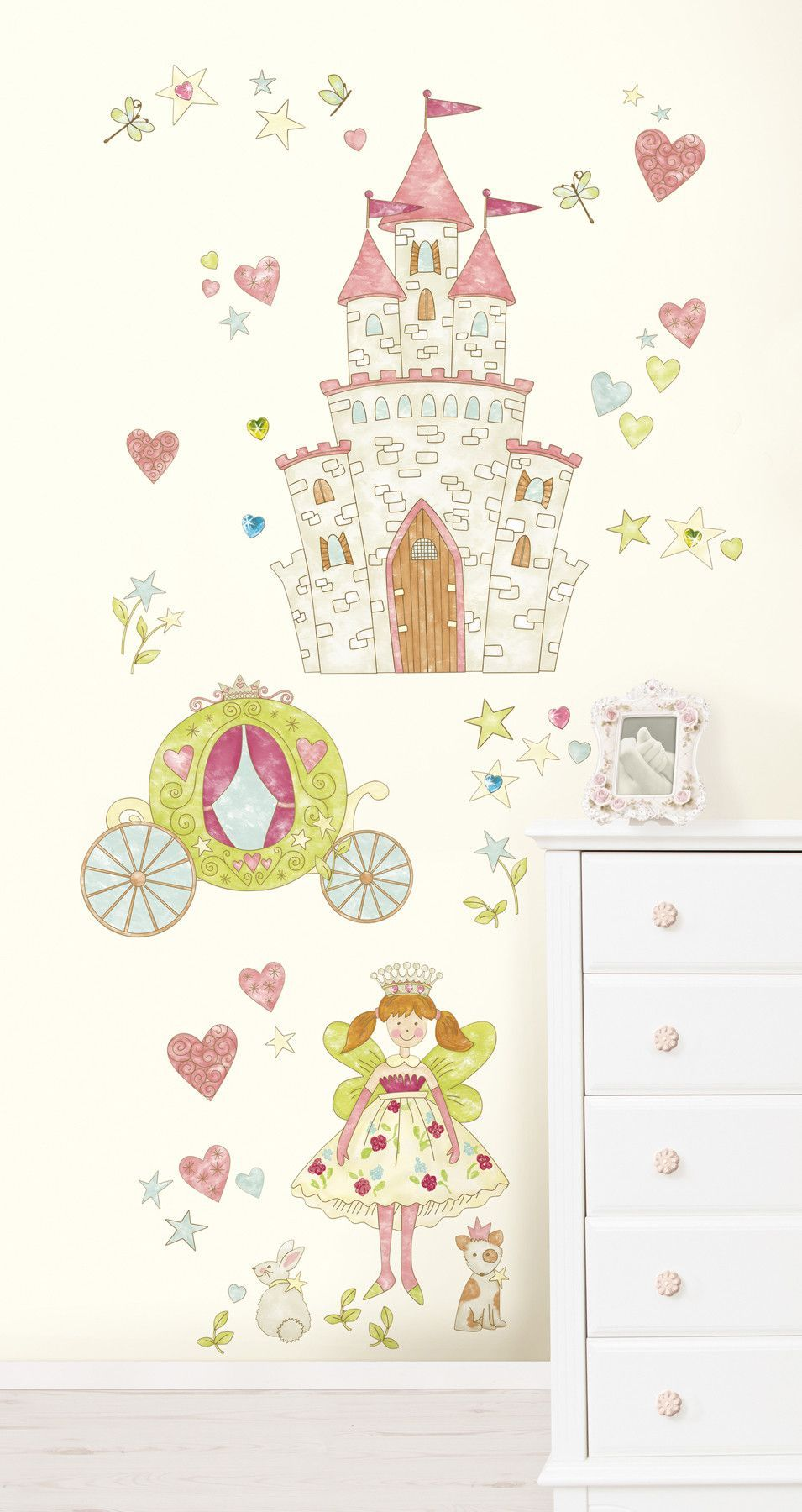Wallpops Princess Super Wall Decal Giant Wall Art Princess Wall