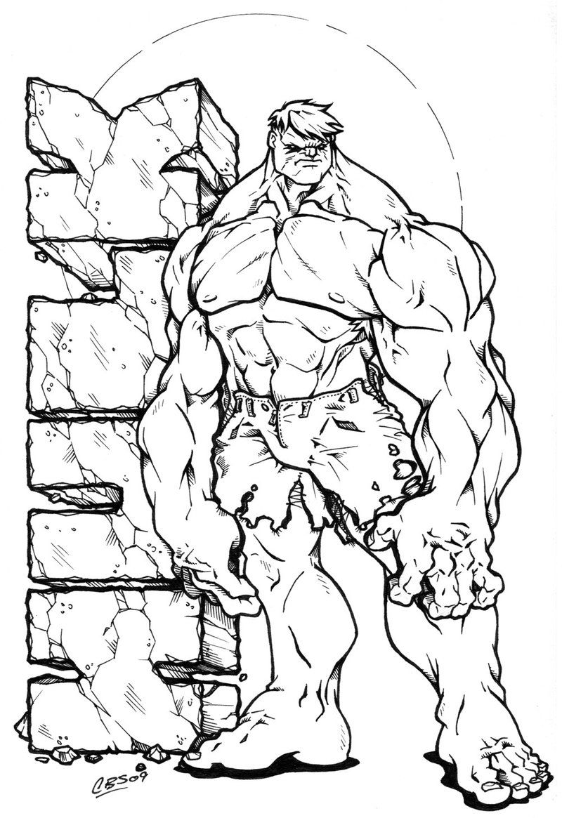 Hulk Coloring Pages Superhero Coloring Pages Avengers Coloring Pages