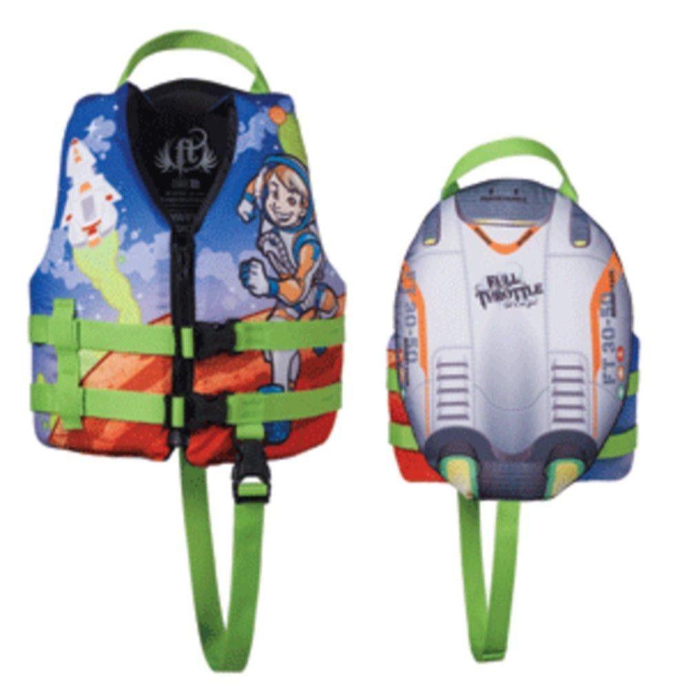 Full Throttle Infant Character Vest Mermaid 104200-505-000-14