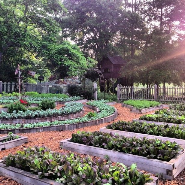 Potager Garden Design Ideas: The Farmhouse At Serenbe's Garden (Ogunquit, Maine)