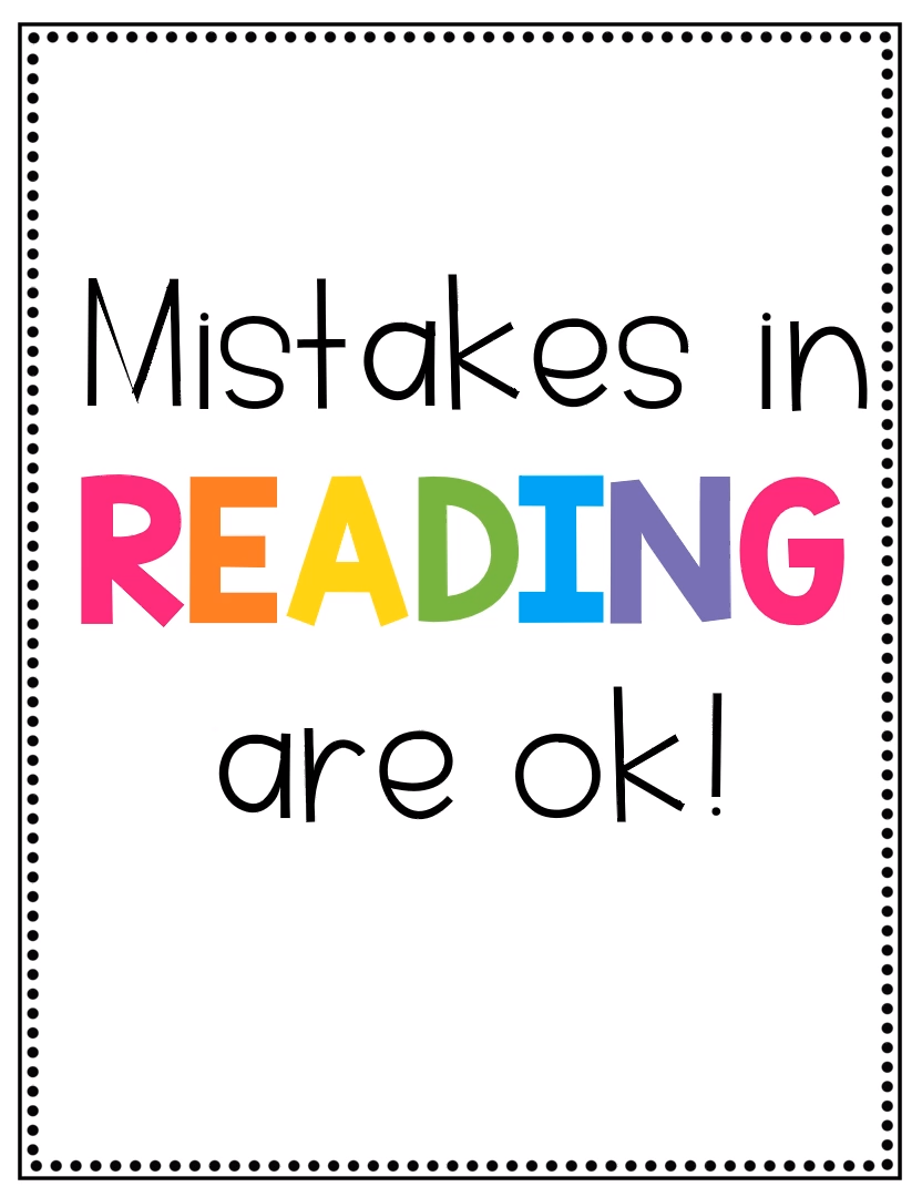 Photo of Reading Growth Mindset Posters