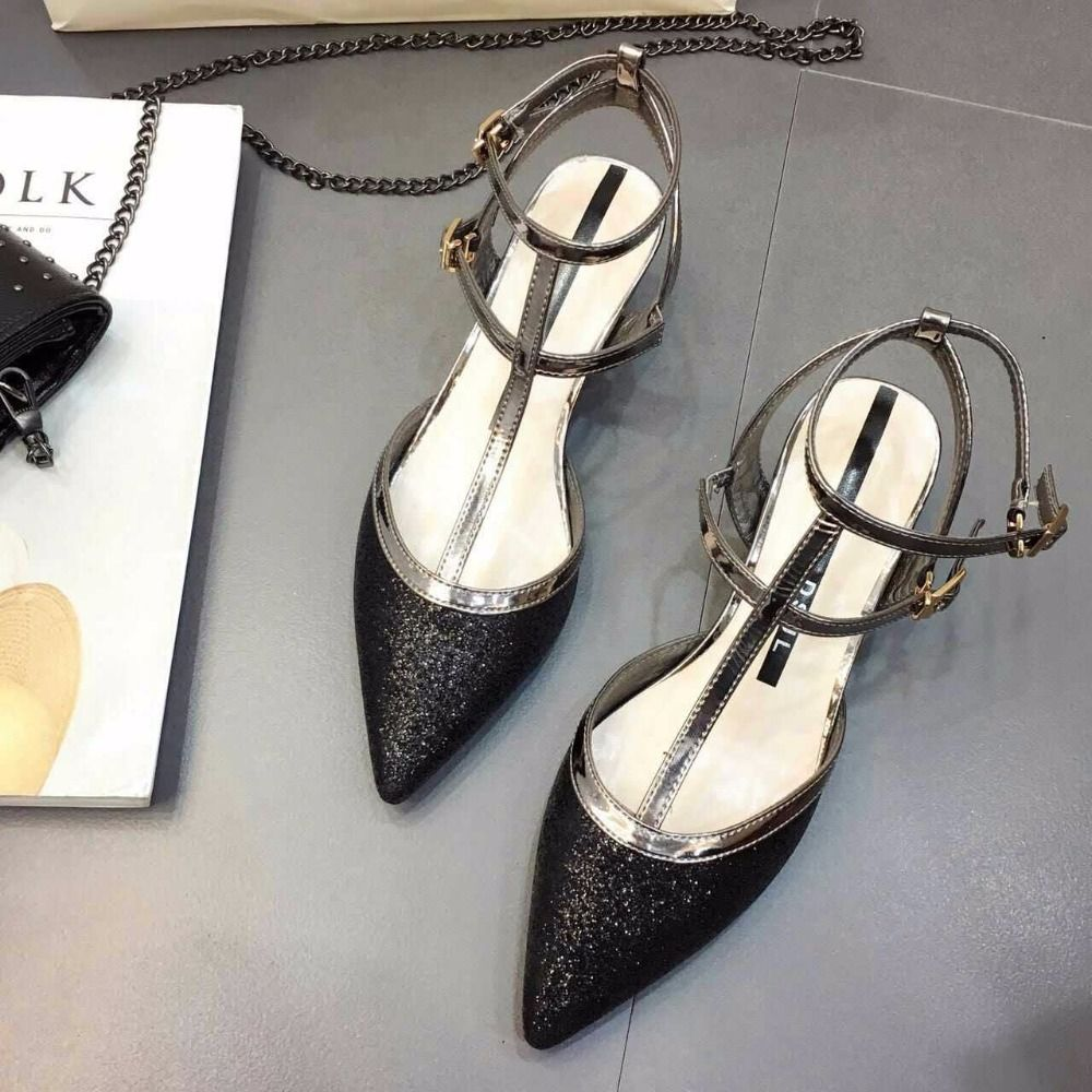 Fishion Free Shipping Cinderella Glass Slipper Wedding Shoes Silver Spring… fbffbe504351