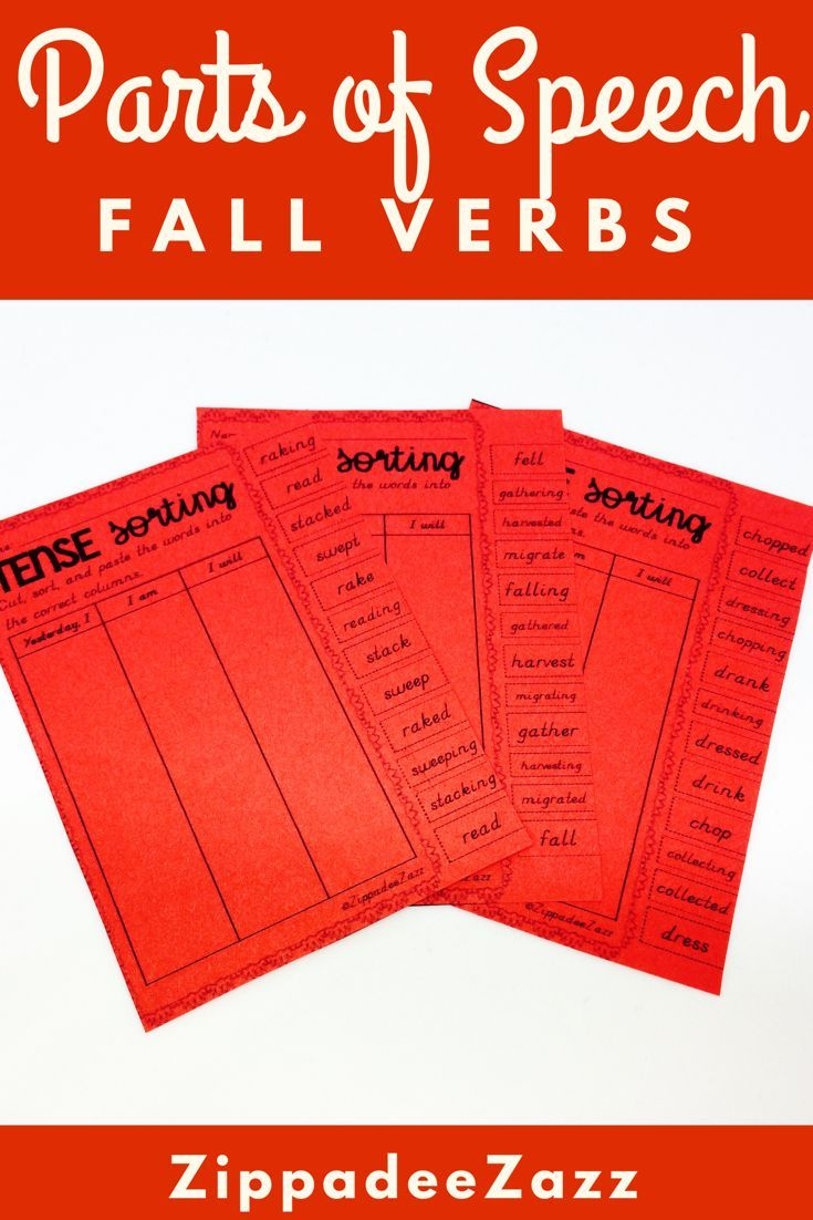 Parts Of Speech Can Be Difficult And Dreary Concept For Many Kids But You Can Quickly Turn That Into Fun Parts Of Speech Parts Of Speech Worksheets Fall Verb [ 1102 x 735 Pixel ]