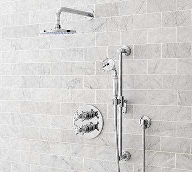 Covington Thermostatic Handheld Shower Set #potterybarn