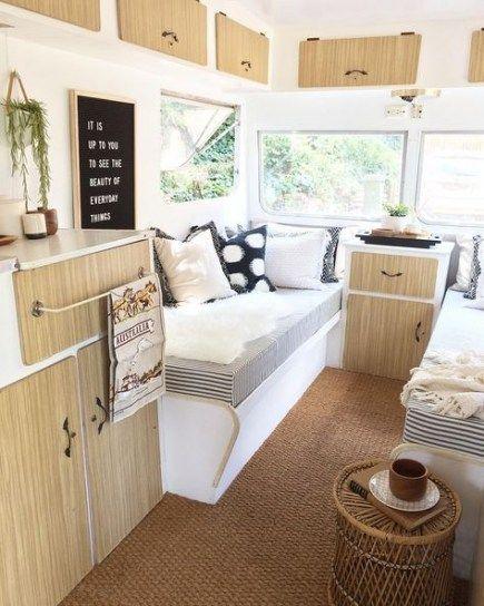 Best vintage campers interior renovation cabinets ideas vintage Best vintage campers interior renov