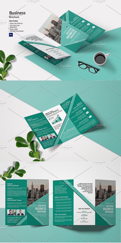 Trifold Business Brochure V970 Business Brochure Brochure Design Business Brochure Design