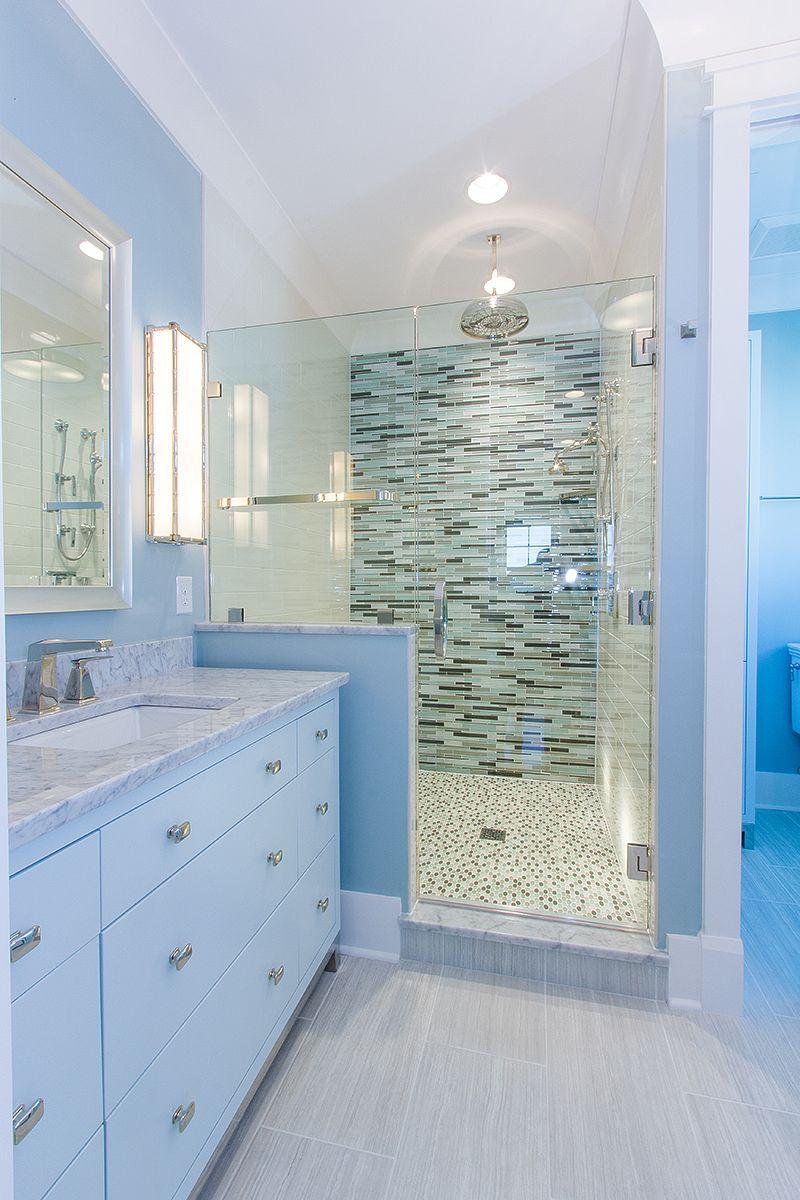Beach Home #129 Master Shower | Custom Tile Showers | Pinterest ...