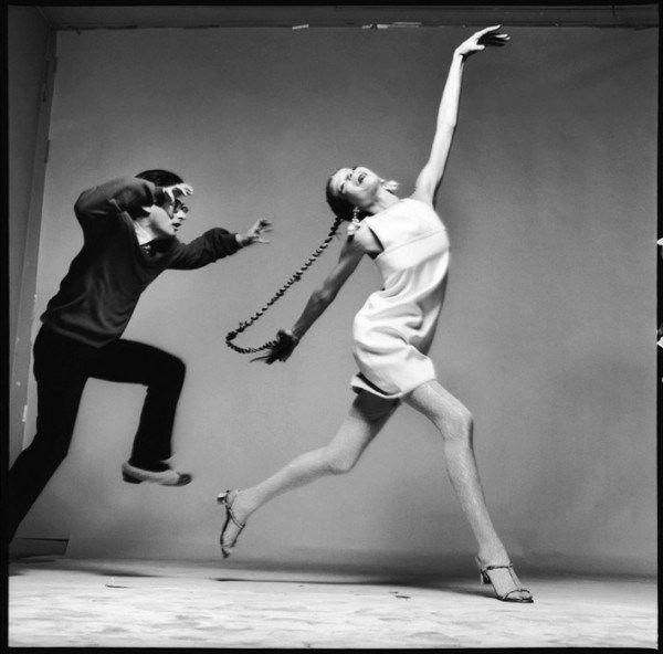 Richard Avedon with Veruschka, 1967. S)