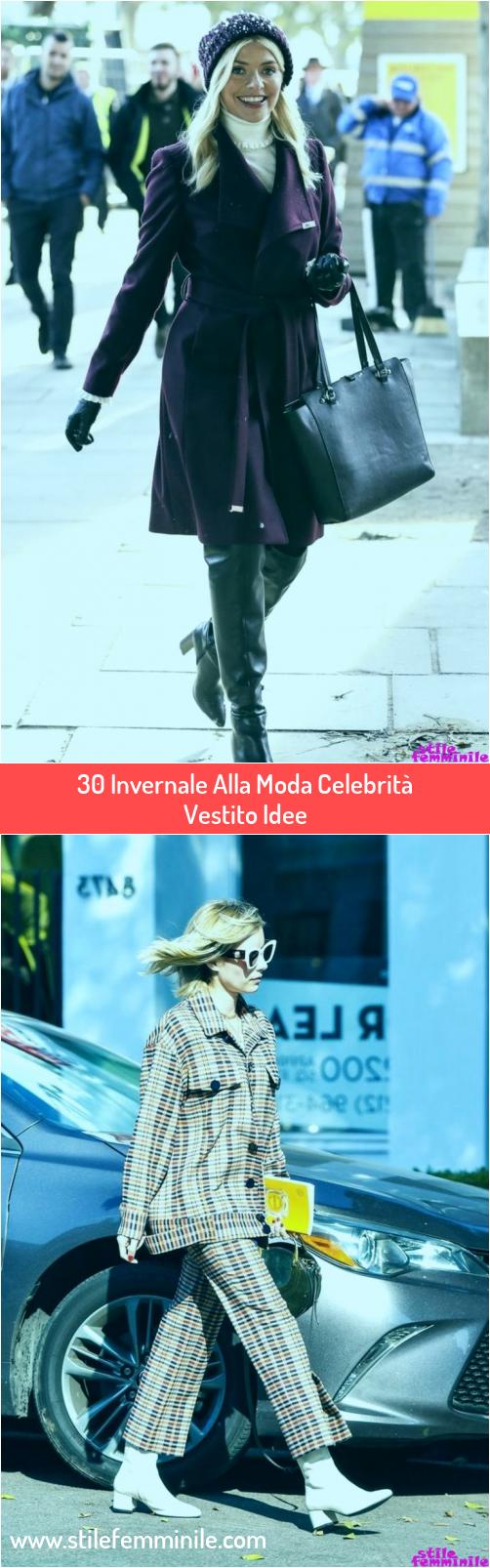 Photo of 30 Invernale Alla Moda Celebrità Vestito Idee