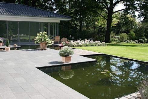 bildergebnis für wasserbecken terrasse | wasser im garten - ideen ... - Terrassengestaltung Mit Wasserbecken