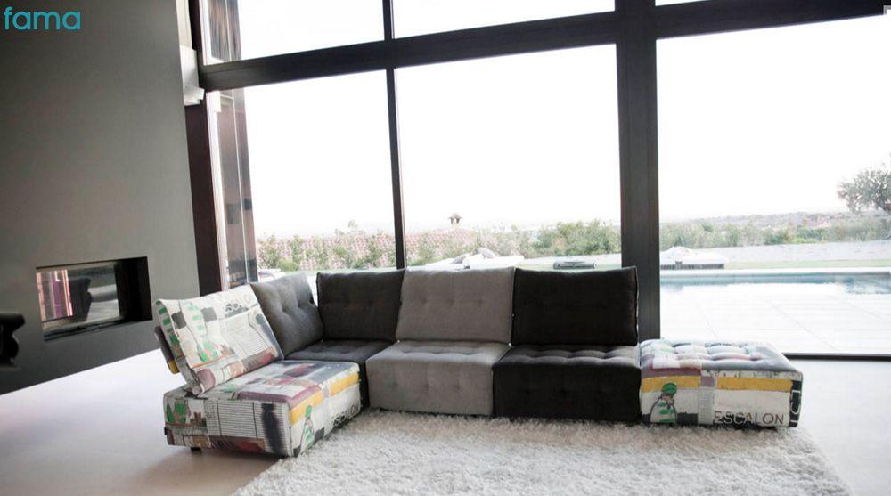 Sofa Fama Modelo Urban Mueblesromerohogar Distribuidor Oficial
